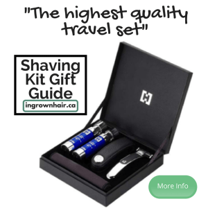 "This is the highest quality of our ""Shaving kits are the perfect gift idea"" series"
