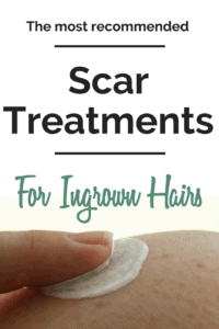 How to get rid of Scars from ingrown hair