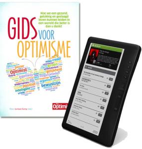 Winactie: maak kans op het boek Gids voor Optimisme & een E-reader!