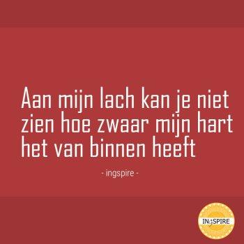 Kwetsbare maar mooie spreuk van Ingspire.nl