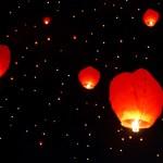 Inspiratie opdoen wensballonnen Yee Peng festival