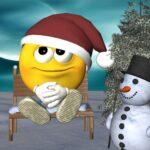 smiley kerstmis feestdagen spreuk wens ingsire