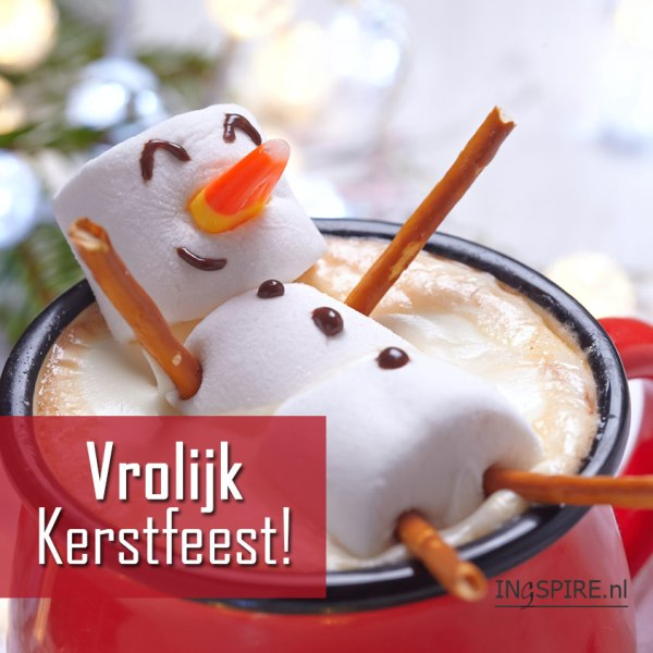 Digitale kerstkaart Vrolijk Kerstfeest!