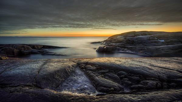 Speilglatt tur til Justøya