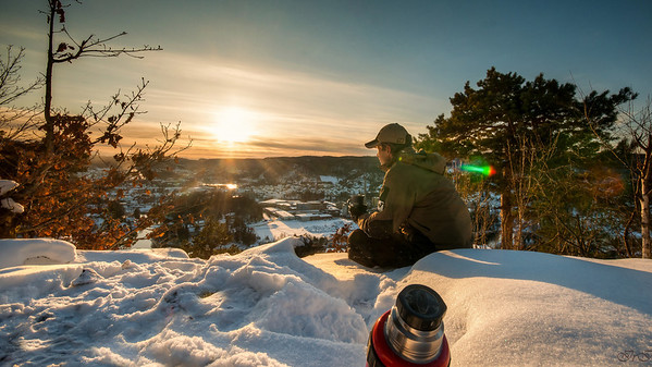 Portrett. Vinter i Vennesla, Nikon D90, Sigma 10-20. HDR