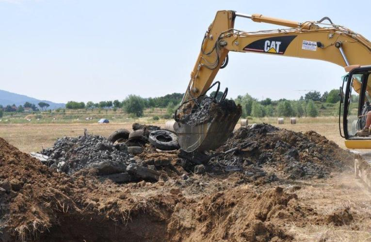 Alla ricerca dei rifiuti sepolti