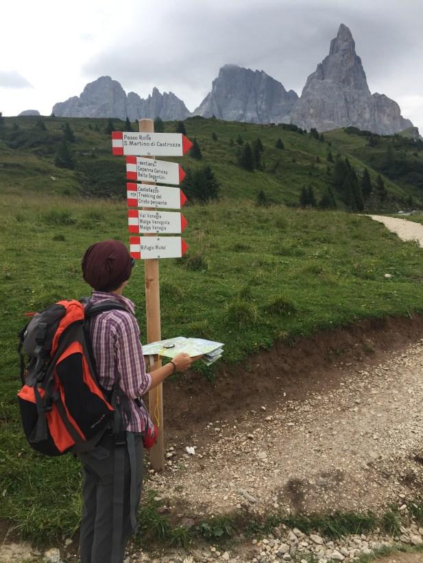 Come orientarsi in montagna