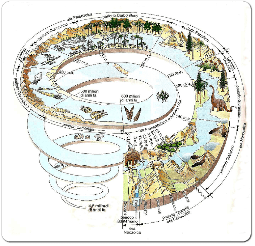 Relativa definizione di scienza della terra di datazione