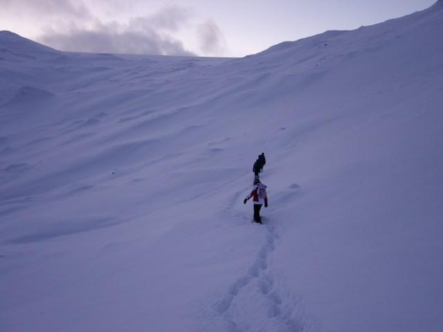 in montagna, foto di Vincenzo Romano