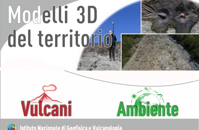 Modelli 3D del territorio