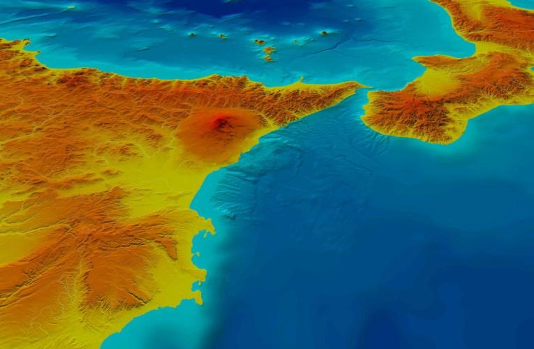 DEM TINITALY: la topografia digitale dell'Italia