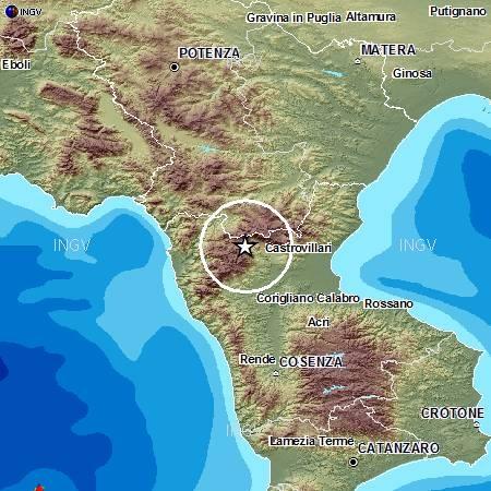 Sequenza nel Pollino: evento sismico M4.3, 28 maggio ore 03:06