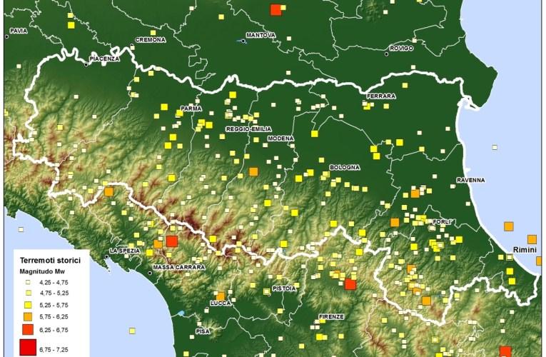 Terremoto in Pianura Padana Emiliana: storia sismica dell'area