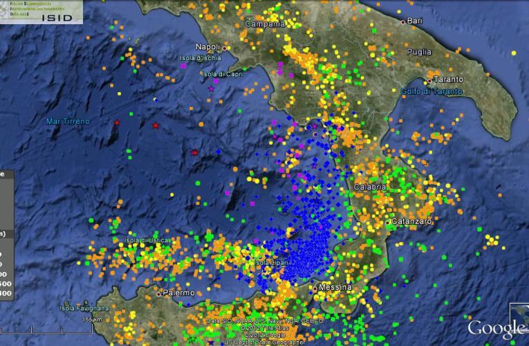 Terremoto profondo a largo di Capri 12 luglio ore 23:22 – Magnitudo 4