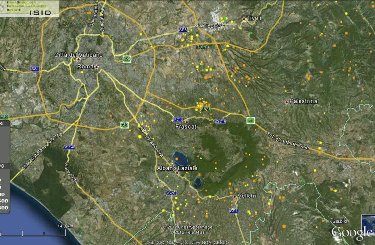Terremoto in Provincia di Roma, Magnitudo 3.5 – 9 luglio ore 17.13