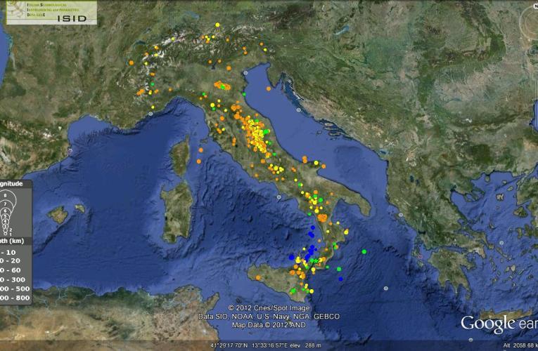 Italia sismica: i terremoti della seconda metà di Agosto 2012
