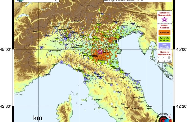 Il rumore del terremoto