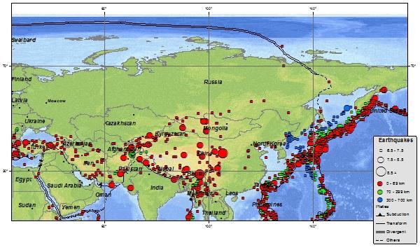 Terremoto alle Isole Kurili (Russia) del 19 aprile 2013, M 7.2