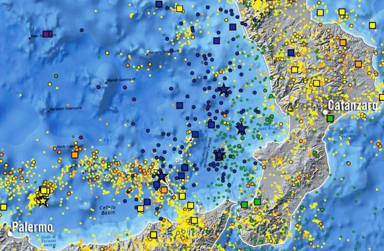 La nuova carta della sismicità in Italia dal 2000 al 2012