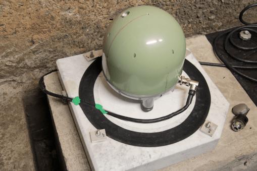 Monte Soratte: una moderna stazione sismica in un vecchio bunker