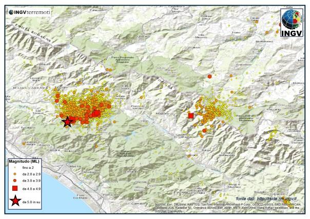 Sequenza sismica..