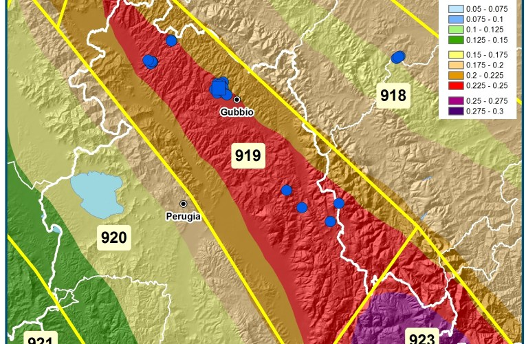Sequenza sismica a Gubbio (Umbria): aggiornamento e pericolosità