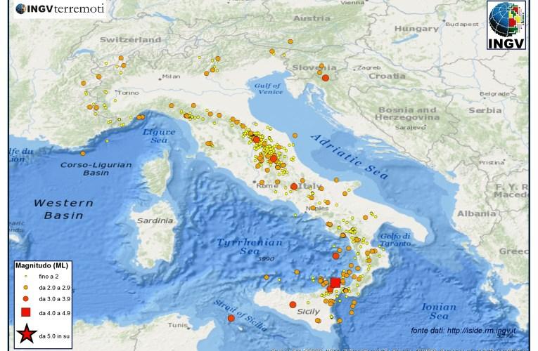 Italia sismica: i terremoti di febbraio 2014