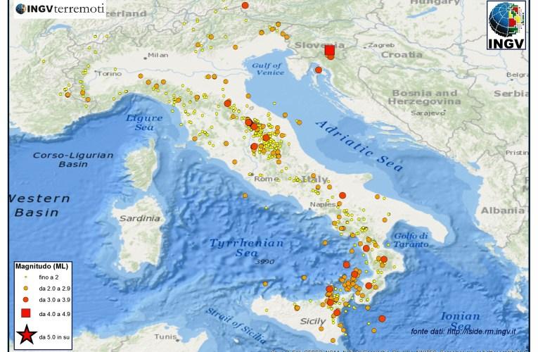 Italia sismica: i terremoti di marzo 2014
