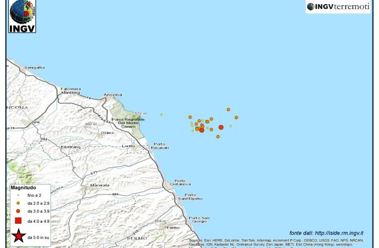 Sequenze sismiche di inizio agosto