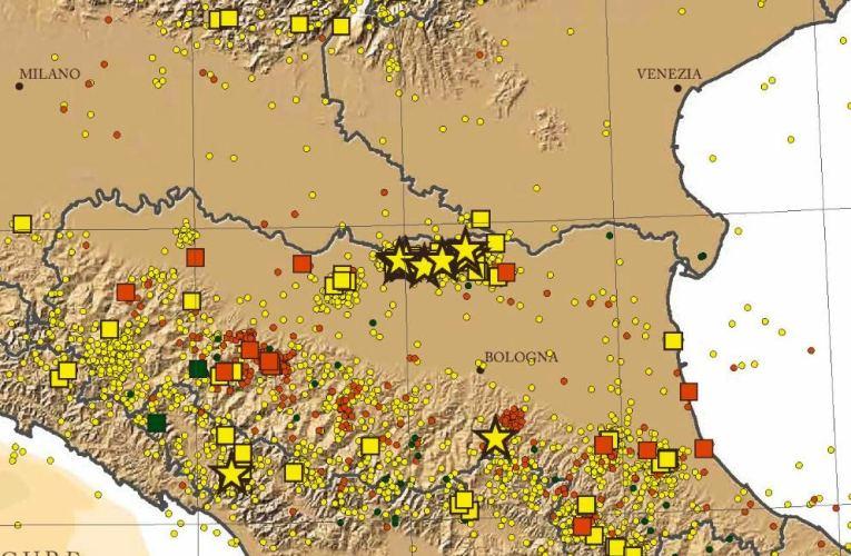 Trenta anni di terremoti in Italia