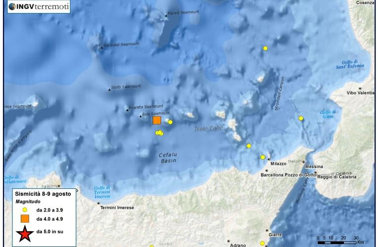 Eventi sismici alle Isole Eolie: aggiornamento e approfondimento