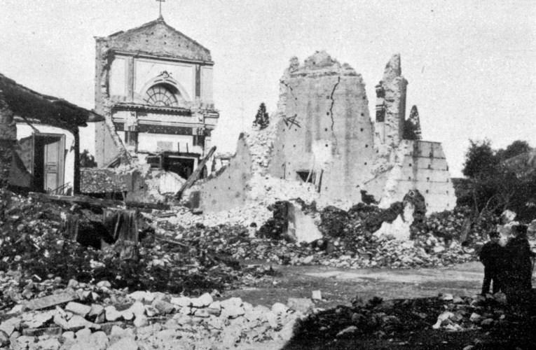 """I terremoti del '900: La """"catastrofe sismica"""" del 28 dicembre 1908"""