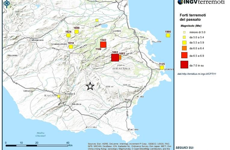 Evento sismico tra le province di Ragusa e Siracusa M 4.6, 8 febbraio: aggiornamento e approfondimento