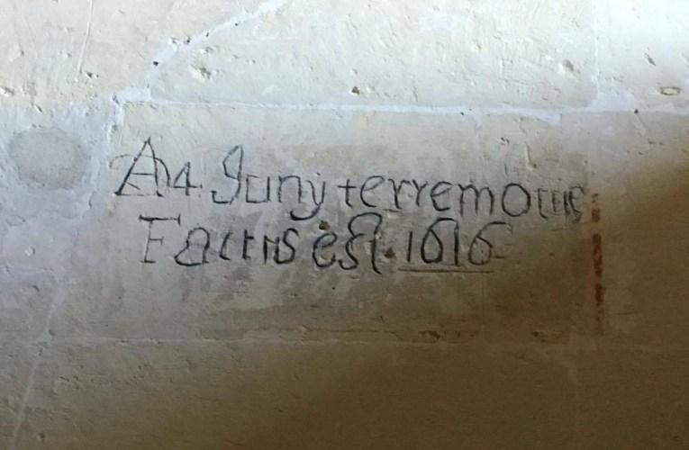 """I terremoti nella STORIA: Cagliari """"Ad[ì] 4 Juny terremotus factus est 1616"""""""