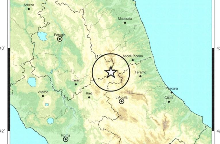 Evento sismico tra le province di Rieti e Ascoli P., M 6.0, 24 agosto