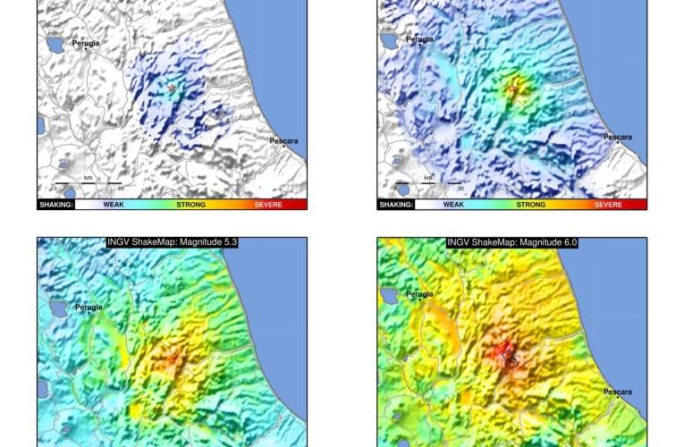Le shakemap: una pronta ed efficace visualizzazione dello scuotimento prodotto da un terremoto