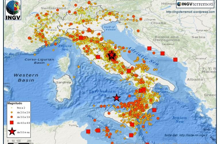 SPECIALE 2016, un anno di terremoti