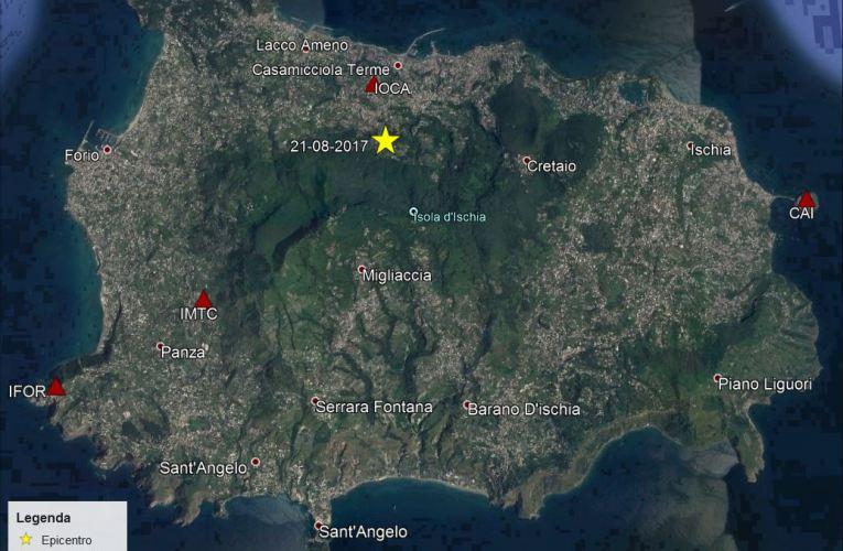 Il terremoto di Casamicciola del 21 agosto 2017: osservazioni sul moto del suolo