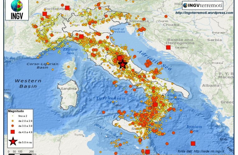 SPECIALE 2017, un anno di terremoti