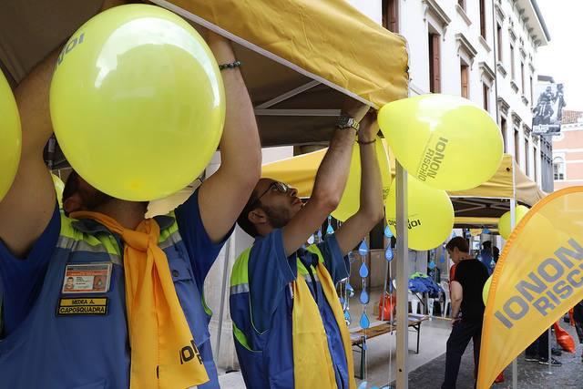 Il 13 e 14 ottobre tornano in piazza i volontari di Io non rischio