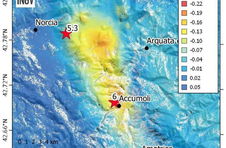 I terremoti studiati dai satelliti: l'interferometria SAR