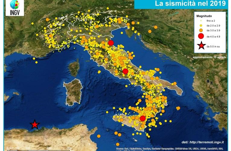 100-1000-10000 terremoti nel 2019 in Italia