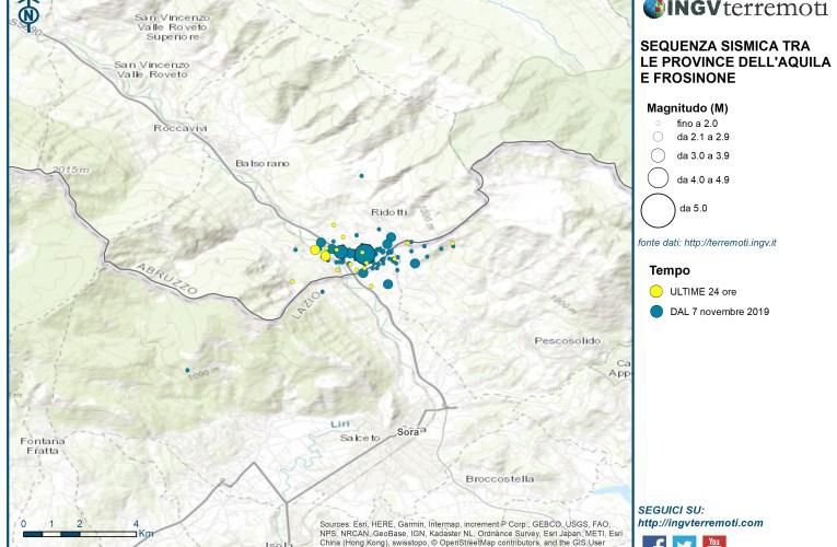 Inquadramento sismotettonico del terremoto di magnitudo Mw 4.4 del 7 novembre 2019