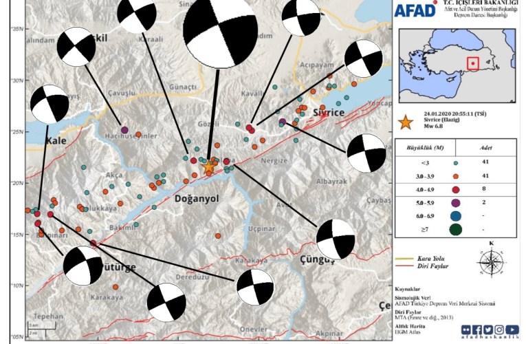 Terremoto M6.8 in Turchia (Elazig) del 24 gennaio 2020
