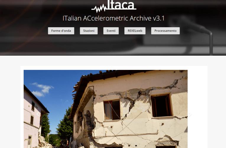 E' online la versione 3.1 di ITACA (ITalian ACcelerometric Archive)