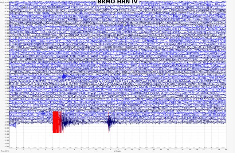 Terremoto di magnitudo Ml 4.2 in Svizzera, 25 ottobre 2020