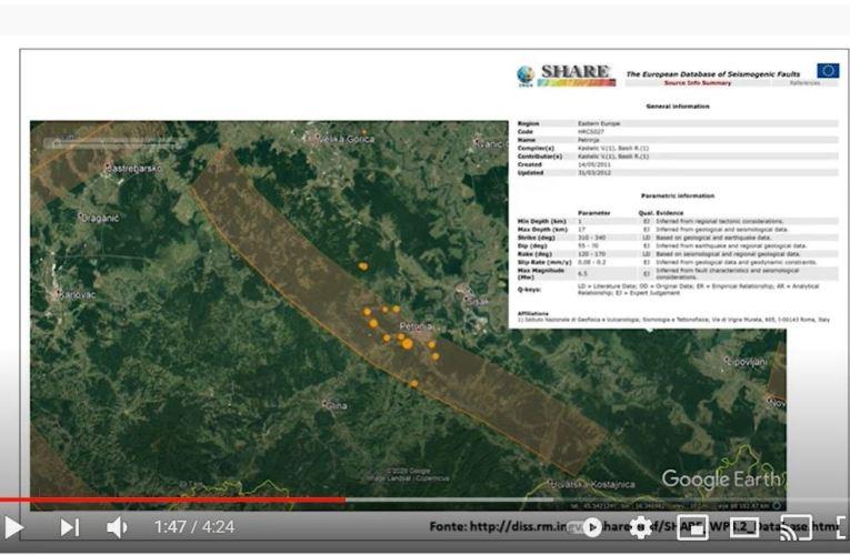 La sequenza sismica – dicembre 2020 – in Croazia: intervista su GEOSCIENZENews