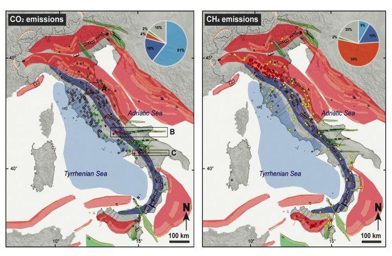 I geofluidi di origine naturale in Italia: classificazione, analisi e interpretazione in chiave sismotettonica
