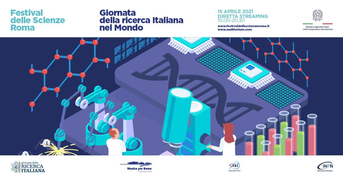 L'INGV alla Giornata della Ricerca Italiana nel Mondo del Festival delle Scienze di Roma 2021