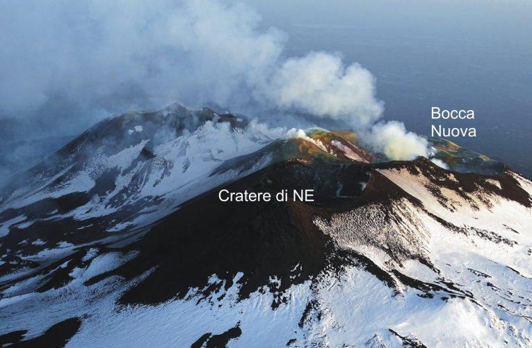 L'Etna dà segni di risveglio: attività stromboliana in area sommitale